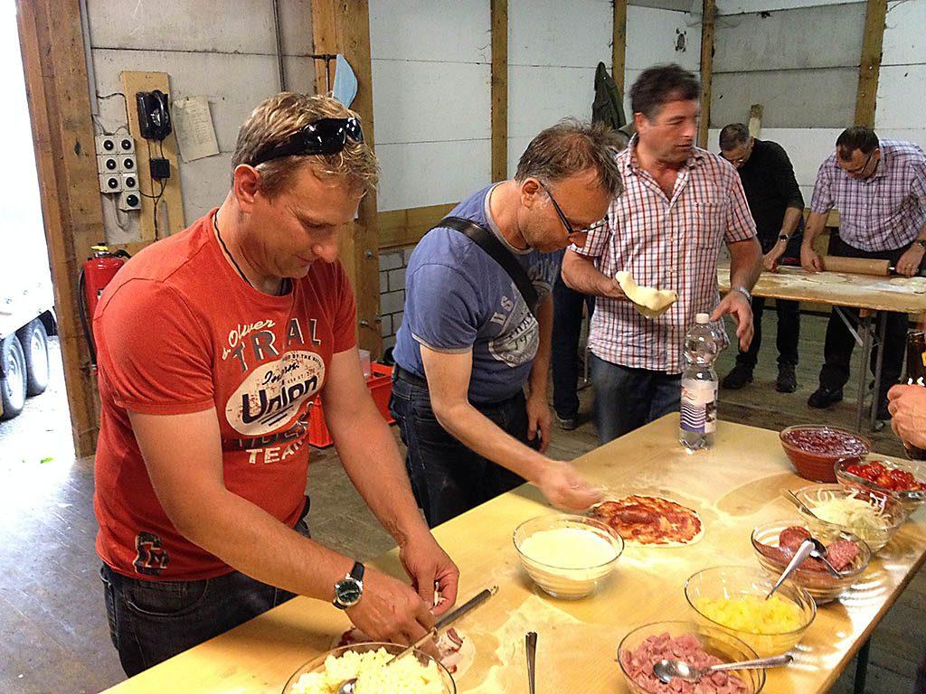 Pizzaplausch mit dem MTV Stans